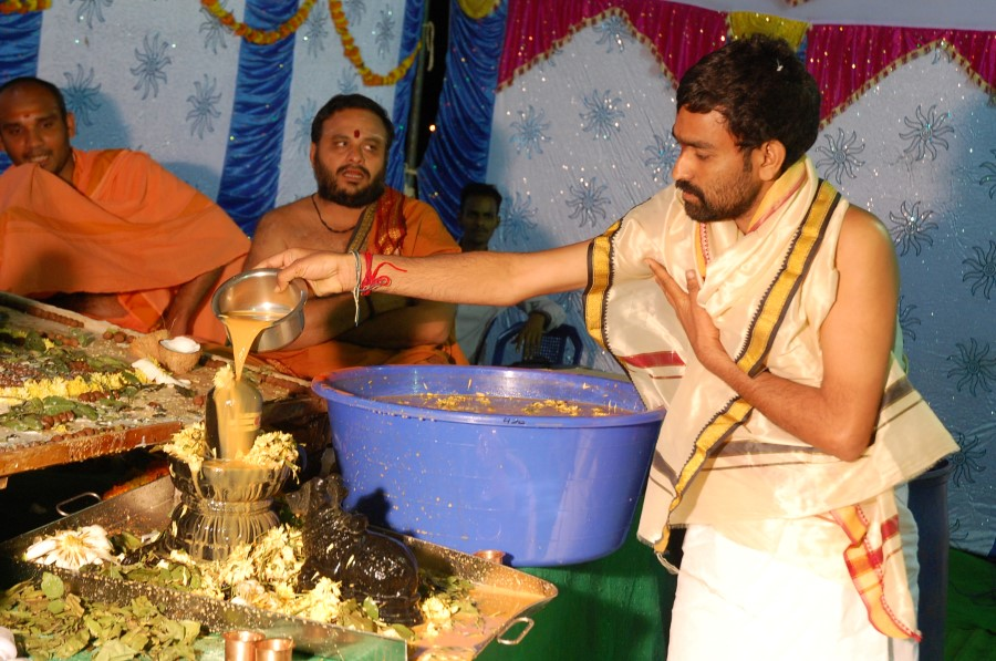 Maha Shivratri Special Maha Pasupatha Homam 2014 (225)