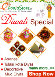 Buy Online Pooja Samagri and Diwali Special Diyas, many more.. on epoojastore.com