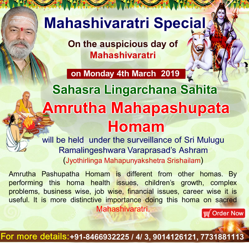 Maha Shivaratri 2019 March 04th