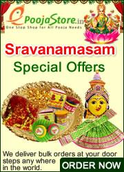 Shravanamasam Special Offers. Buy Online Pooja Samagri on epoojastore.com